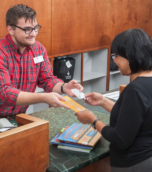 Circulation Desk Employees - Library Card