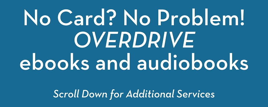 Try OverDrive for ebooks and audiobooks